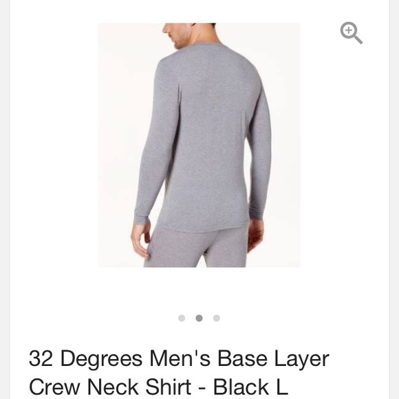 694681cb1 32 Degrees Shirts | Weather Proof Mens Base Layer Tee | Poshmark